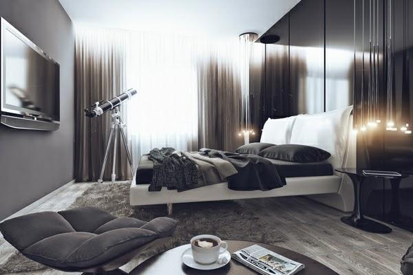 Diseños de dormitorios para solteros   dormitorios colores y estilos