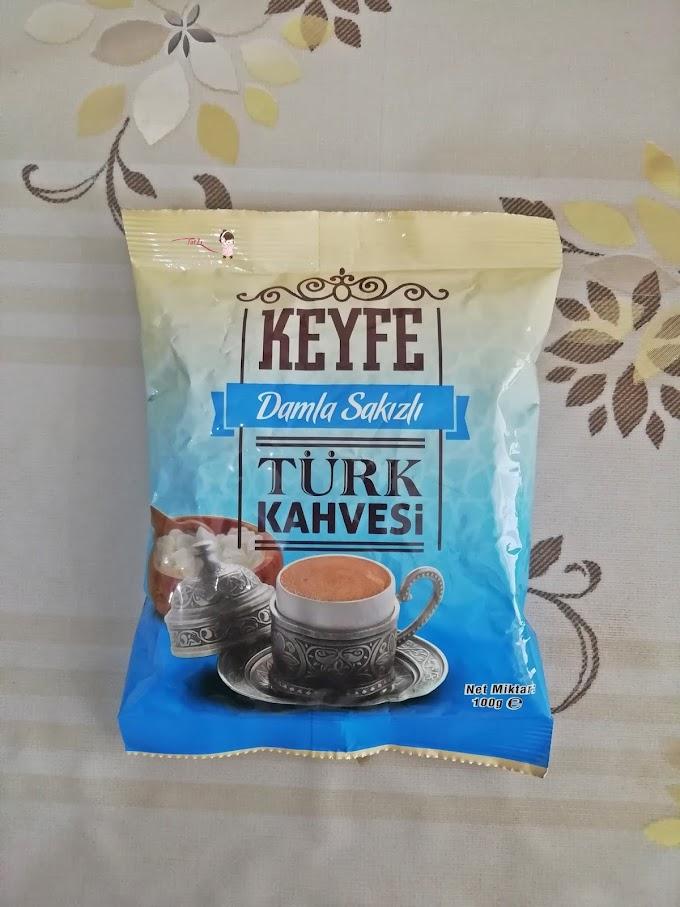 KEYFE Damla Sakızlı Türk Kahvesi  Tadım