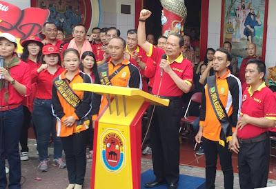 Deklarasi Kota Mojokerto Bebas Sampah Awali Kirab Barongsai