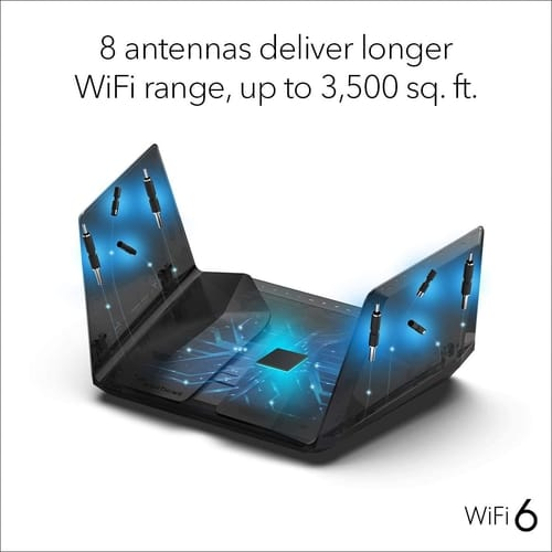 Review NETGEAR RAX120 Nighthawk AX12 Wifi 6 Router