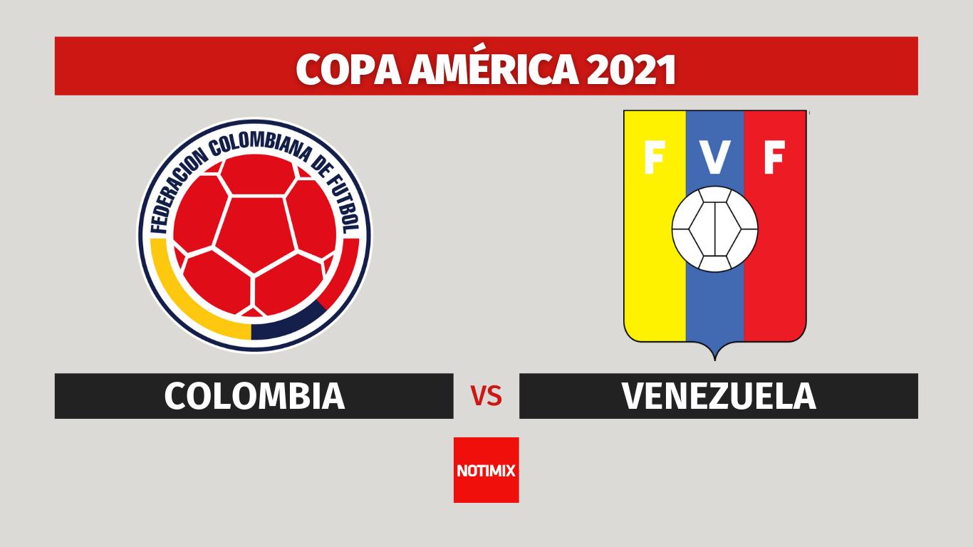 Colombia y Venezuela se enfrentan por la segunda fecha del Grupo B de la Copa América