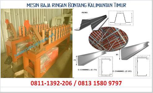 mesin baja ringan Bontang Kalimantan Timur