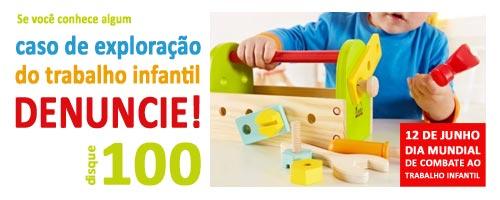 Resultado de imagem para campanha Dia Mundial e Nacional contra o Trabalho Infantil