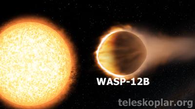 yansıtmayan gezegen wasp-12b