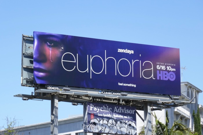 Zendaya Euphoria series premiere billboard