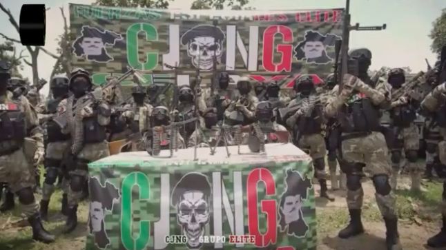 Nuevo video del Grupo Elite del CJNG, envían mensaje a El Marro, al pueblo de Guanajuato y a Alfonso Durazo para que no diga que es un montaje