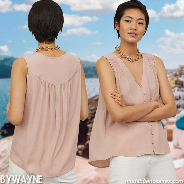 blusas de moda verano 2021 ropa de mujer