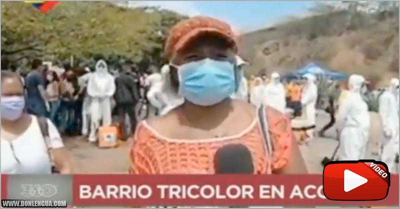 Chavista feliz porque en su barrio no hay Covid pero hay tuberculosis y neumonía