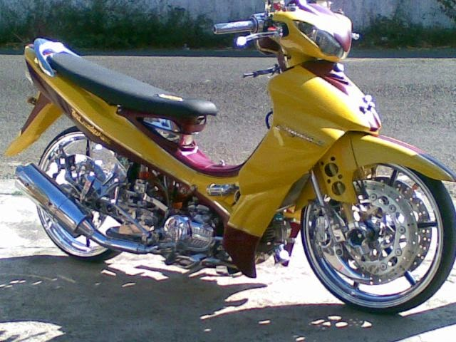 Modifikasi Motor Yamaha Jupiter Z 2010 Yellow