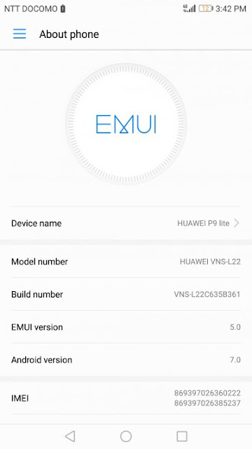 Huawei P9 Lite Rolling Out With A New Firmware Update