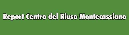 Report Centro del Riuso Montecassiano