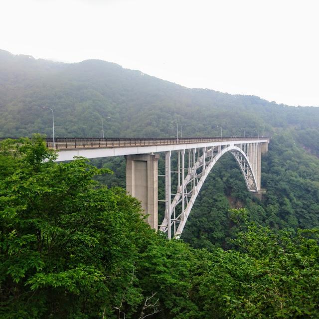 栗山日光線 六方沢橋
