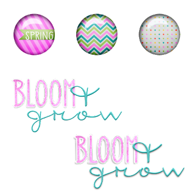 Freebie Spring Flair