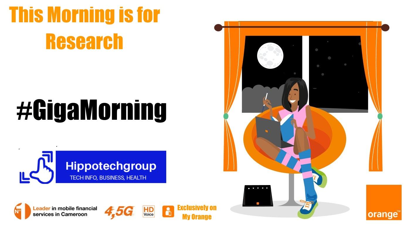 Orange Giga morning