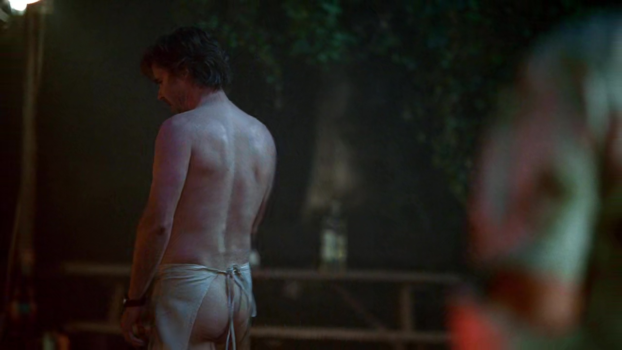 Sam trammell, marshall allman sexy, shirtless scene in true blood