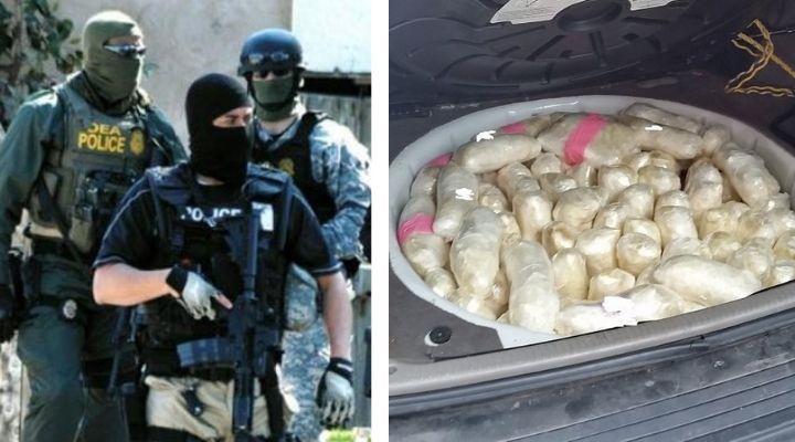 El Cártel de Sinaloa sigue activo y en expansión, DEA desmantela botín millonario a célula del CDS en EU; heroína, cocaína y fentanilo
