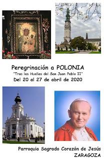 Peregrinación a Polonia del 20 al 27 de abril de 2020