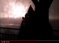 Image de la vidéo de Youtube feu de Linky à Badefols