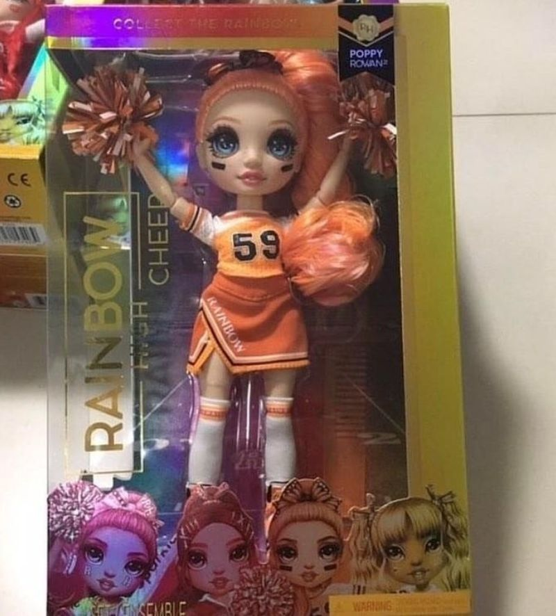 Кукла Rainbow High Cheerleader Poppy Rowan
