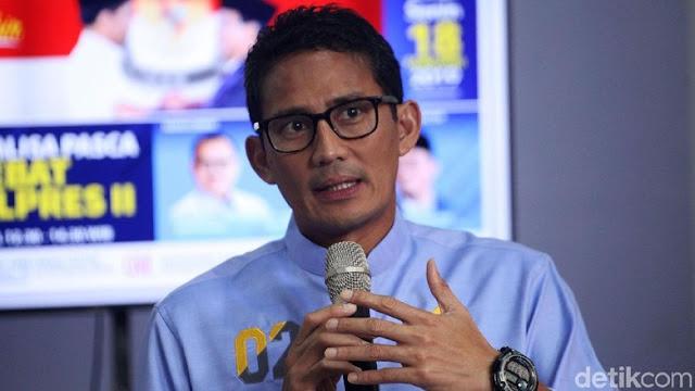 Sandiaga Cermati Isu TKA di Cianjur: Dengan e-KTP kan Bisa Mencoblos