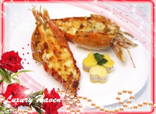 valentine's day seafood prawns recipe