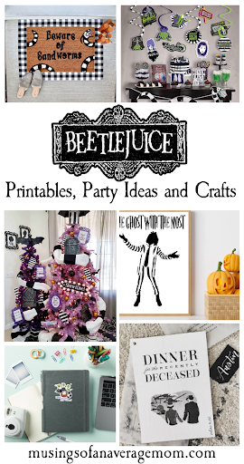 Beetlejuice party decorations,
