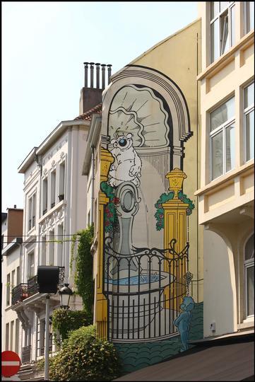 Mural Dupa- Cubitus