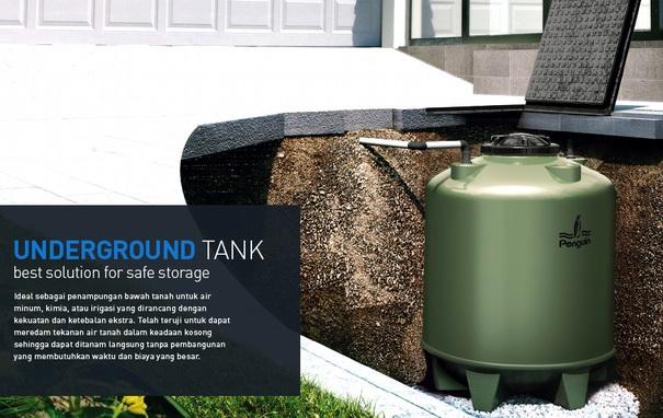 Gambar 1 Underground Tank Dipendam Langsung