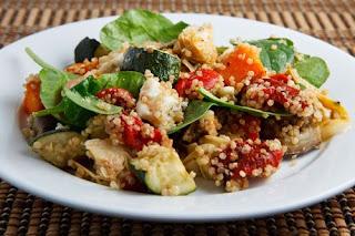 Quinoa Con Verduras Asadas (receta Vegetariana)