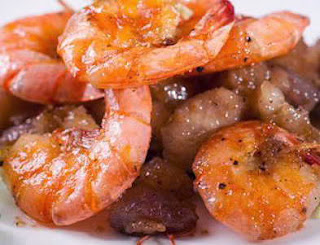 Món ăn ngon: Tôm rim thịt ba chỉ