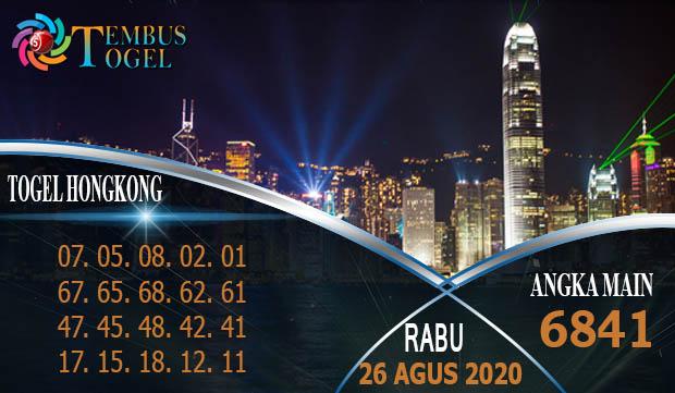 Prediksi Angka Togel Hongkong Rabu 26 Agustus 2020