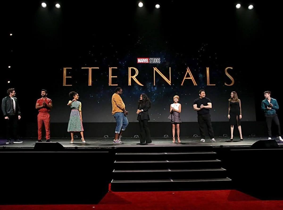 Eternals : アンジェリーナ・ジョリーがマーベル参戦 ! ! のシネマティック・ユニバースの最新作「エターナルズ」のヒーローたちのフィギュアの写真 ! !