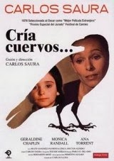 Póster de Cría cuervos (Carlos Saura, 1975)