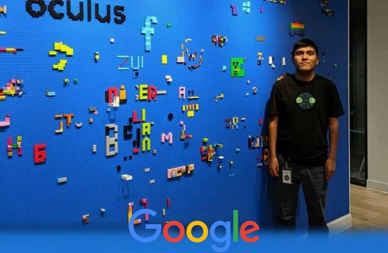 Joven talento huancaneño trabaja en google como ingeniero de software