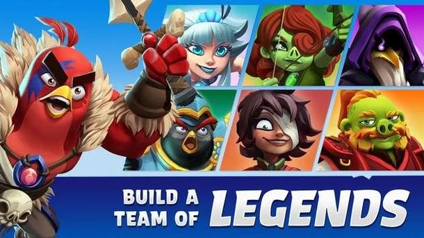يمكن للجميع تنزيل اللعبة المنتظرة Angry Birds Legends وقبل وصولها إلى Google Play