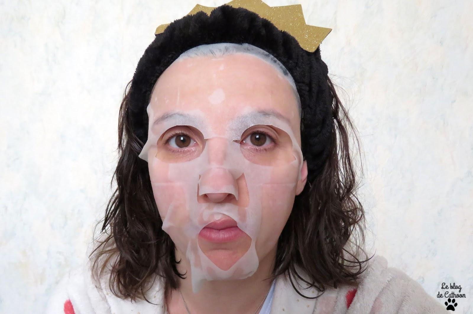 Masque Visage en Tissu Anti-Imperfection - Thé Vert - Loua By Laurence Dumont