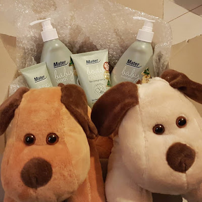 Mater Mothers' Hospitals baby and mum skin care pack all 4 products reviewed | away from blue