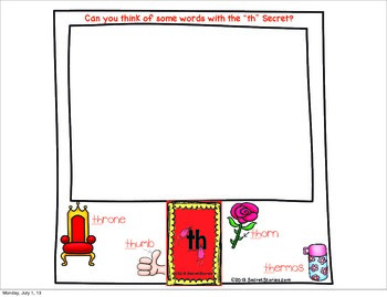 "Secret Stories® Phonics ""Spotting Secrets!"" (The Digraph Secrets—TH)"