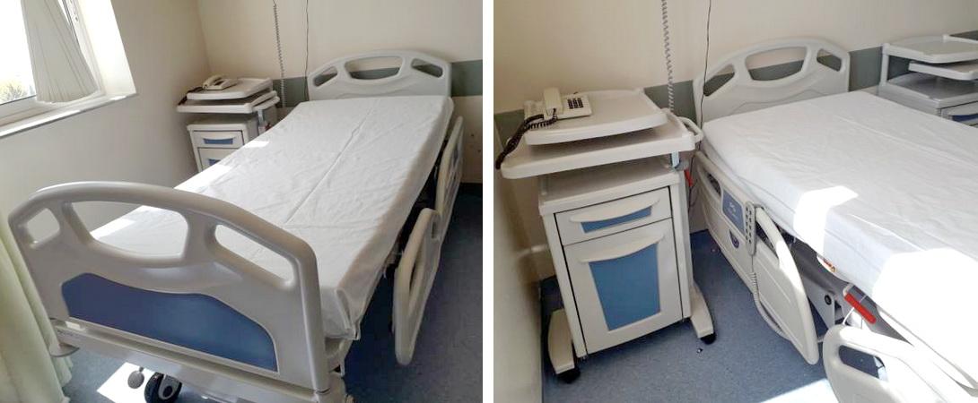 Δωρεά 10 νοσοκομειακών κλινών στο Νοσοκομείο Αλεξανδρούπολης από τη Ζυθοποιία Βεργίνα
