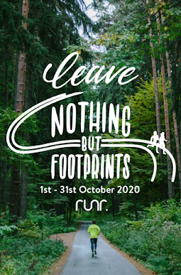 Leave Nothing But Footprints Poster