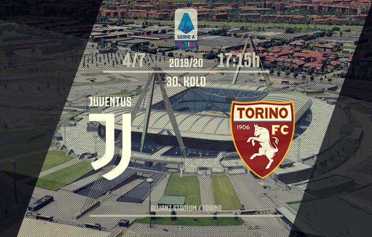 Serie A 2019/20 / 30. kolo / Juventus - Torino, subota, 17:15h