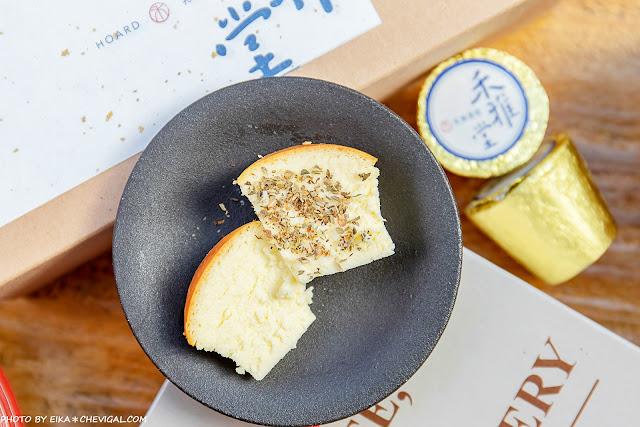MG 6857 - 熱血採訪│台中超隱密老字號禾雅堂乳酪蛋糕,金色鋁箔包裹醇香乳酪,還有限定巧克力與抹茶口味新發售