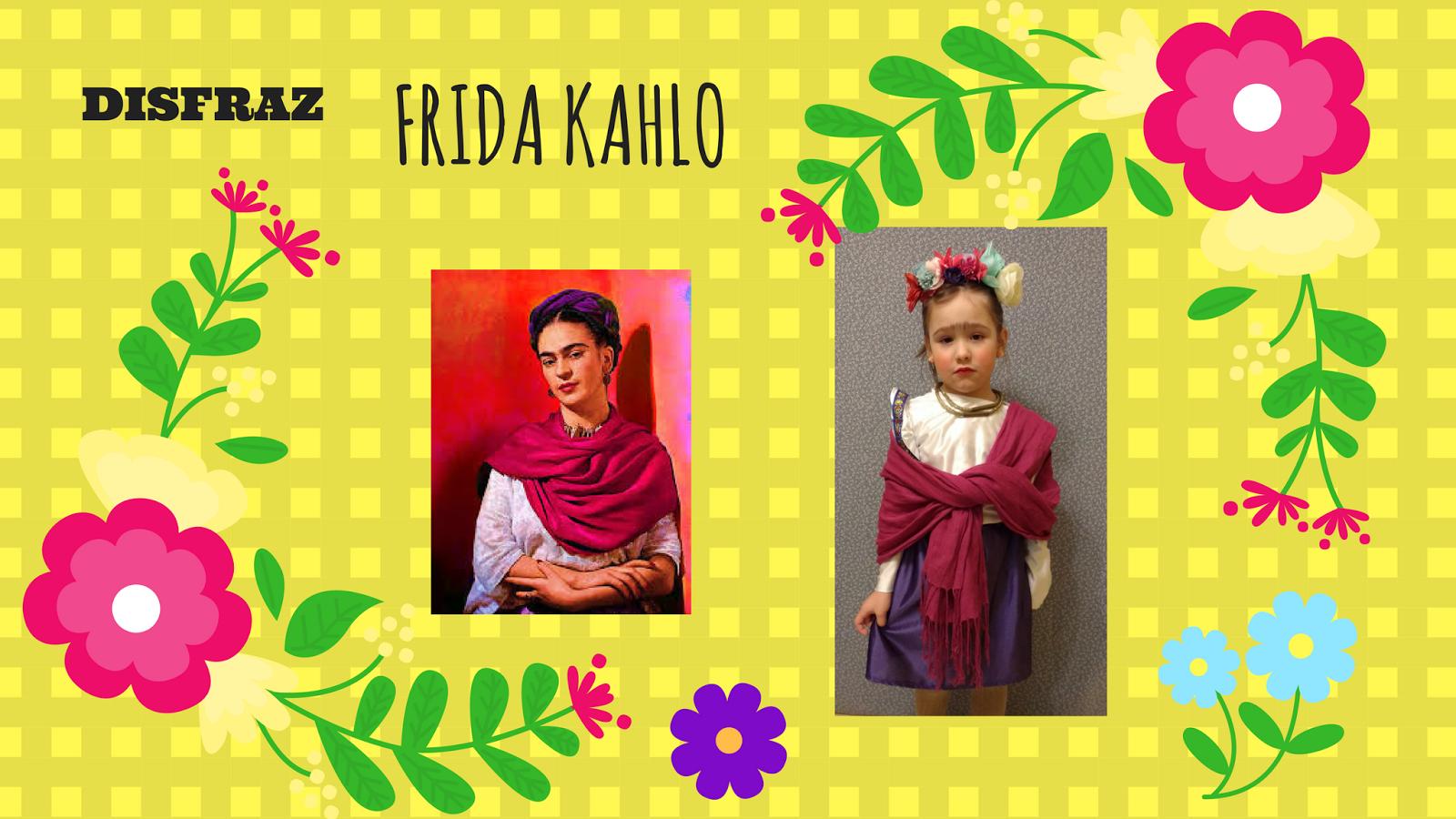 Disfraz Frida Kahlo Nina