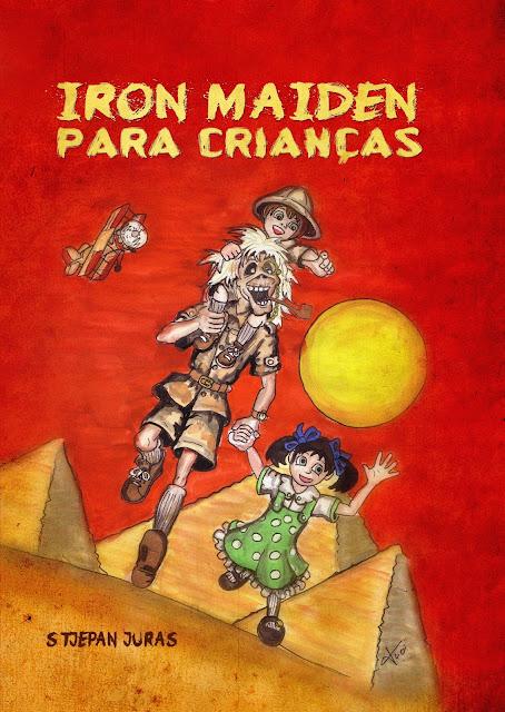 Iron Maiden para Crianças: lançamento do livro no Brasil