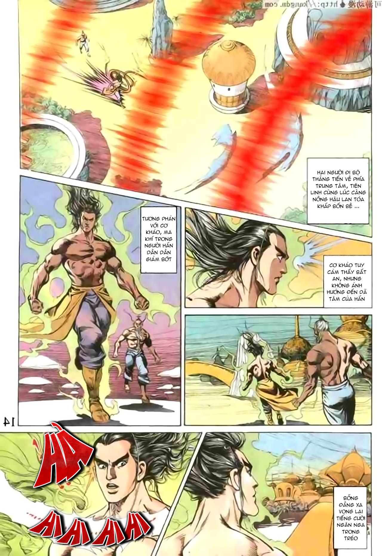 Cơ Phát Khai Chu Bản chapter 103 trang 14