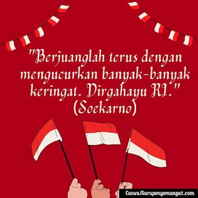 Gambar Ucapan Hari Kemerdekaan Indonesia dari Para Pahlawan Nasional (5)