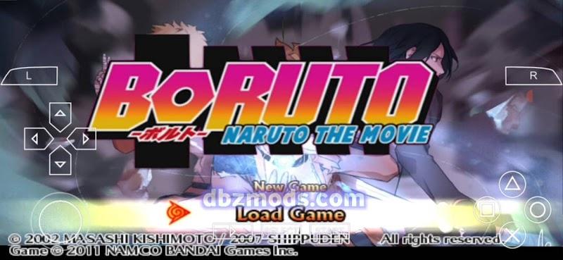 Boruto Naruto The Movie PPSSPP ISO Impact Mod