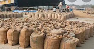 एफसीआई का 82 कुंटल गेहूं निजी गोदाम से जप्त माढोताल थाने में प्रकरण दर्ज