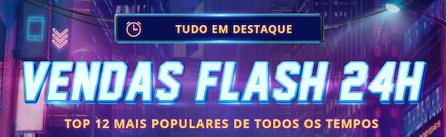 Promoção 24H de vendas Flash na Gearbest