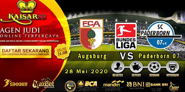 Perdiksi Bola Terpercaya Liga Bundesliga Augsburg vs Paderborn 07 28 Mei 2020